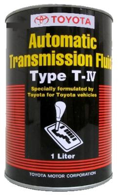 Toyota AUTOMATIC TRANSMISSION FLUID TYPE T-IV .